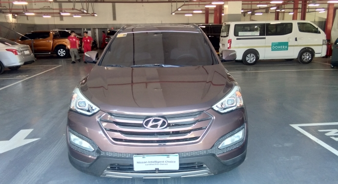 2013 Hyundai Santa Fe 6AT 4WD