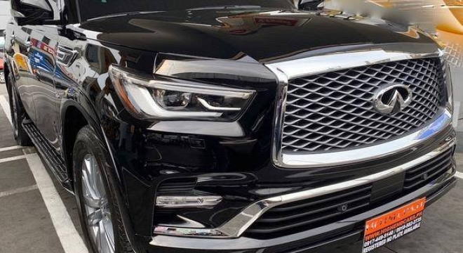 2019 Infinity QX80 5.6L V8