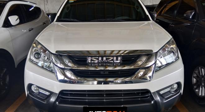 2017 isuzu mu-x 3.0 td used car for sale in quezon city, metro manila, ncr autodeal