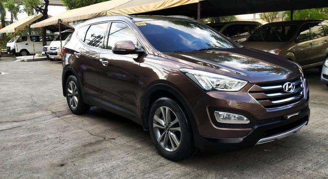 2015 Hyundai Santa Fe CRDi AT