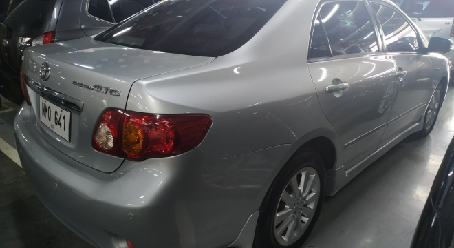 2009 Toyota Corolla Altis 1.6 V AT