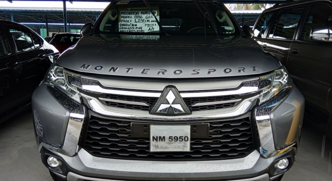 2016 Mitsubishi Montero Sport GLS AT Used Car For Sale in Paranaque