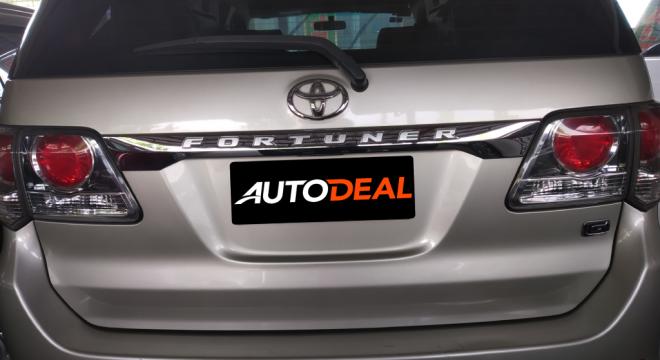 2015 Toyota Fortuner G AT Diesel