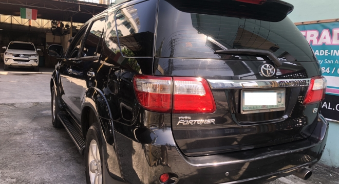 2009 Toyota Old Fortuner G Diesel AT