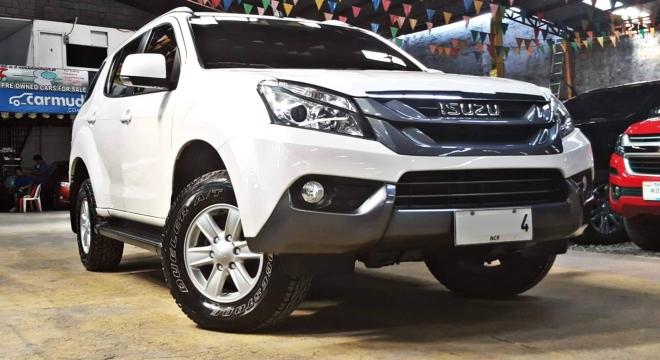 2015 isuzu mu-x 2.5l mt diesel used car for sale in quezon city, metro manila, ncr autodeal