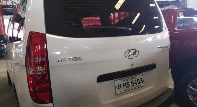 2017 Hyundai Grand Starex GL Super Express MT