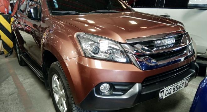 2017 isuzu mu-x at diesel used car for sale in quezon city, metro manila, ncr autodeal