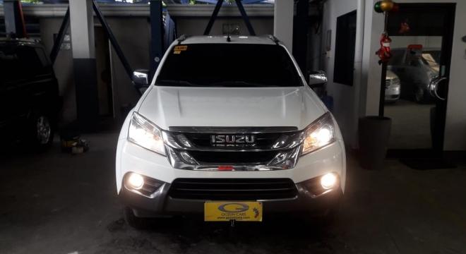 2015 isuzu mu-x ls 2.5l at diesel used car for sale in san fernando city, pampanga, central luzon autodeal