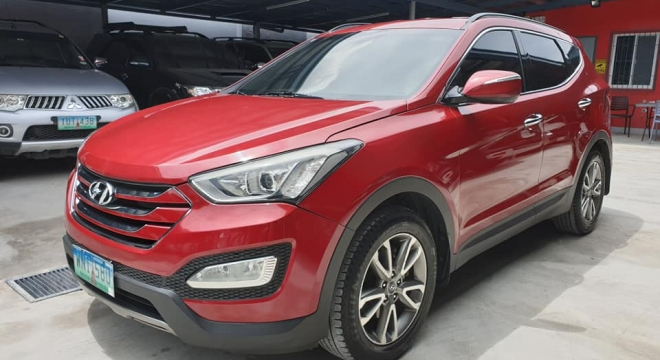 2013 Hyundai Santa Fe 6AT 4X2