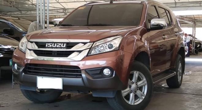 2015 isuzu mu-x 2.5 at used car for sale in makati city, metro manila, ncr autodeal