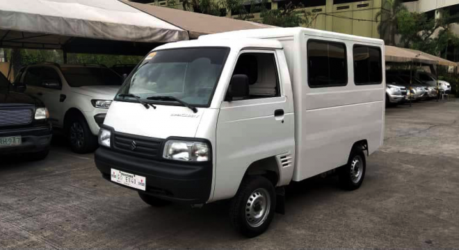 2018 Suzuki Super Carry Utility Van