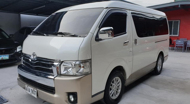 2015 Toyota Hiace Super Grandia AT