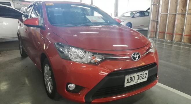 2015 Toyota Vios 1.3 E MT Gasoline