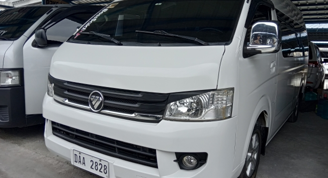 2016 Foton View Traveller 2.8L MT Diesel