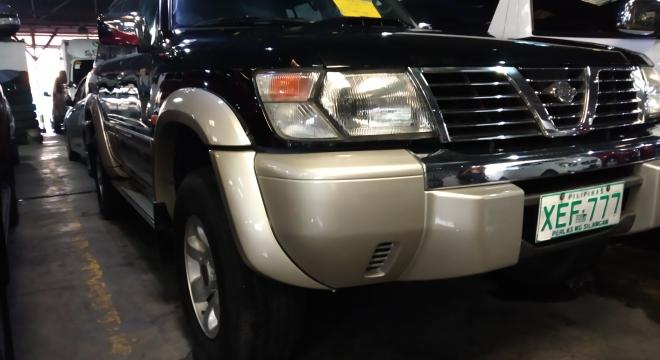 2002 Nissan Patrol 3.0L AT Diesel