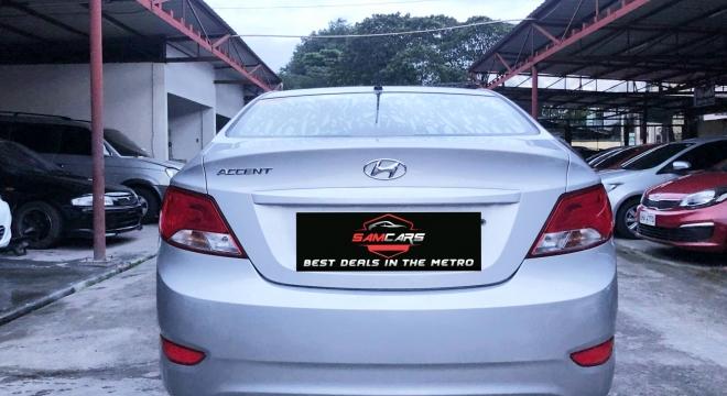 2015 Hyundai Accent Sedan 1.4L AT Gasoline