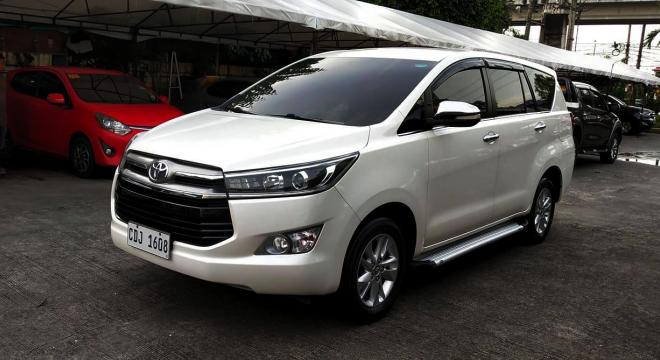 2016 Toyota Innova 2.5L V AT Diesel