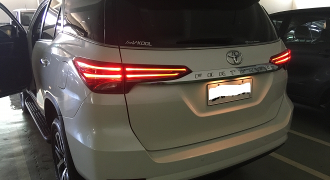 2016 Toyota Fortuner 2.4L AT Diesel