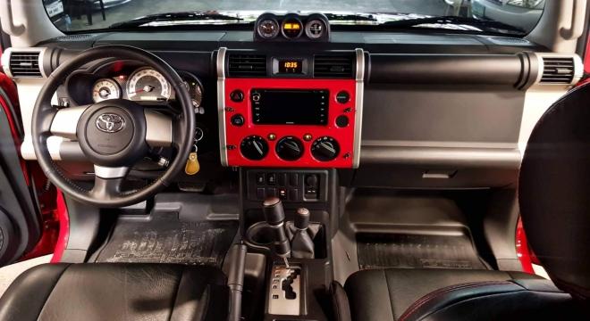 2016 Toyota FJ Cruiser 4.0L AT Gasoline