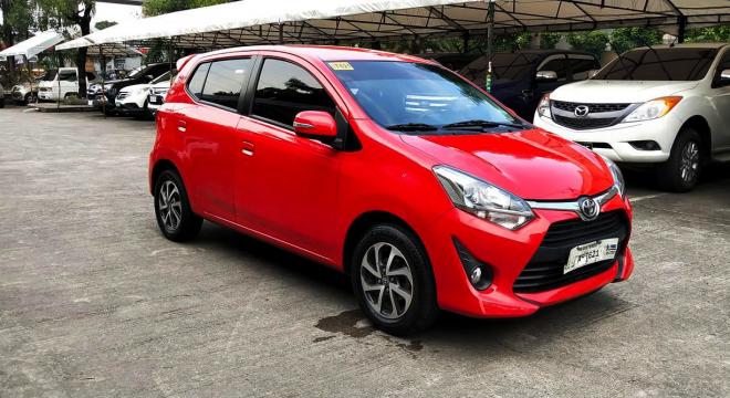 2018 Toyota Wigo 1.0 G AT
