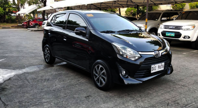 2019 Toyota Wigo 1.0 G AT
