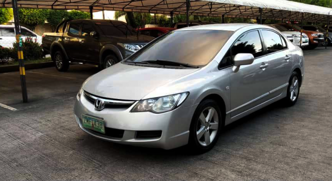 2007 Honda Civic 1.8S AT