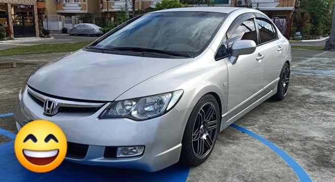2008 Honda Civic 1.8S MT