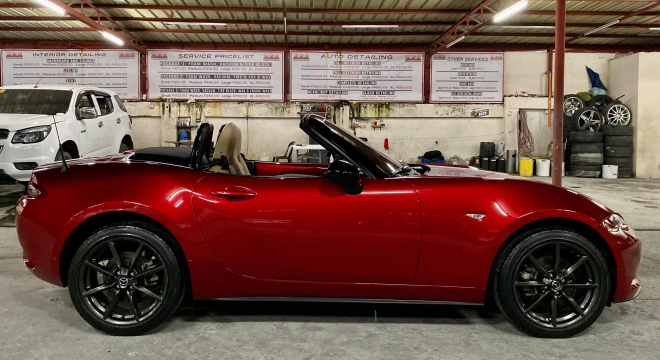 2015 Mazda MX-5 1.0L AT Gasoline