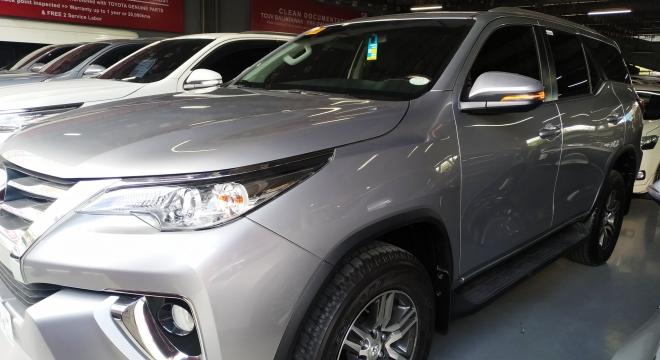 2019 Toyota Fortuner G