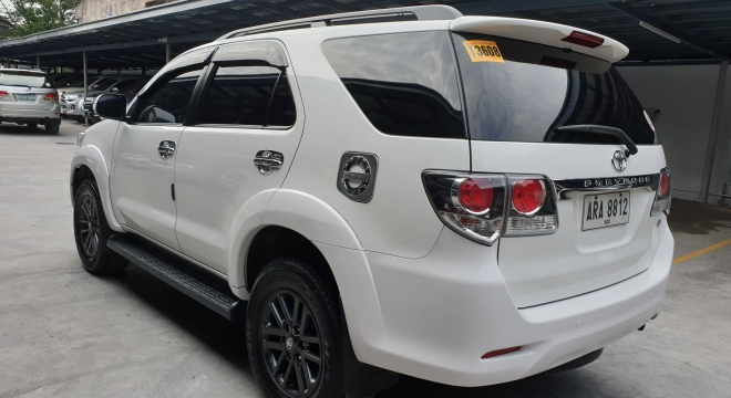 2015 Toyota Fortuner G Gas AT