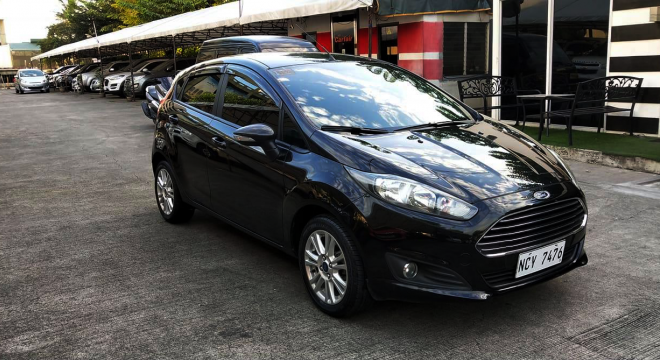 2017 Ford Fiesta Hatchback 1.5L AT Gasoline