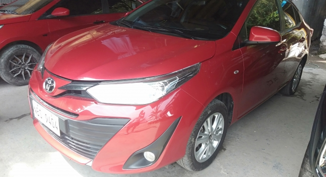 2019 Toyota Vios 1.3L E AT GASOLINE