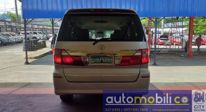 2002 Toyota Alphard 2.4L AT Gasoline