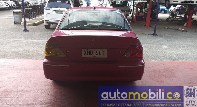 2003 Mitsubishi Lancer 1.6L AT Gasoline