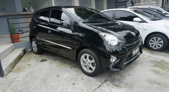2017 Toyota Wigo 1.0L AT Gasoline