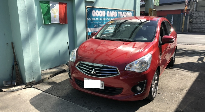 2018 Mitsubishi Mirage G4 1.2L AT Gasoline