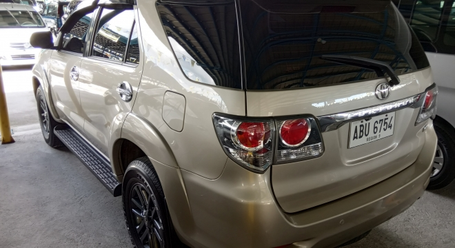 2016 toyota fortuner g at dsl used car for sale in paranaque city  metro manila  ncr  id 20383