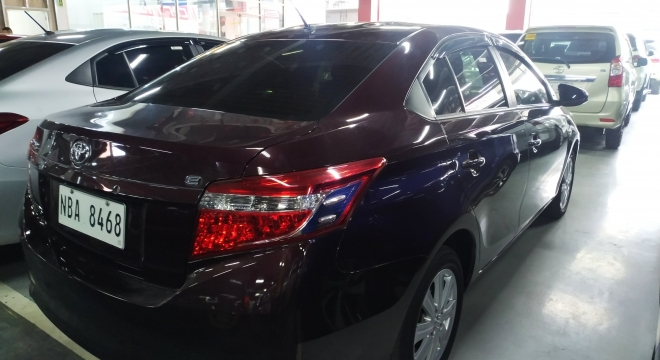 2017 Toyota Vios E AT