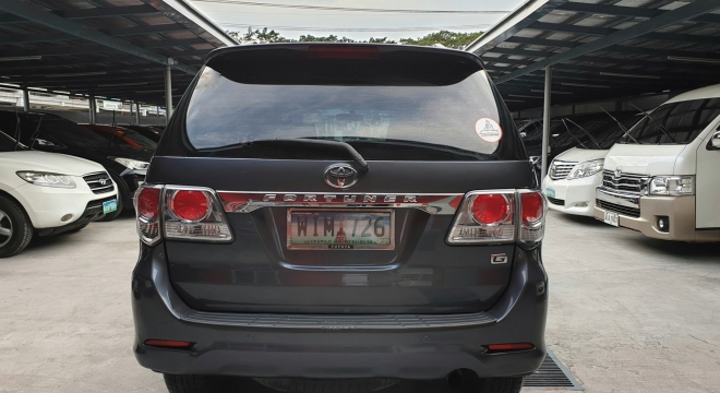 2014 Toyota Fortuner 2.7 G Gas 4x2 AT