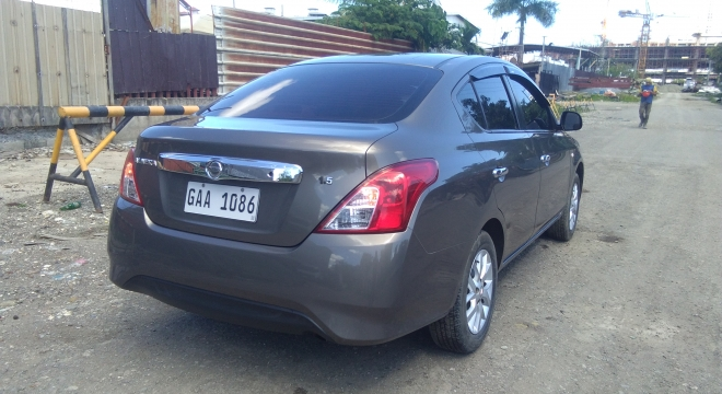 2017 Nissan Almera BASE MT