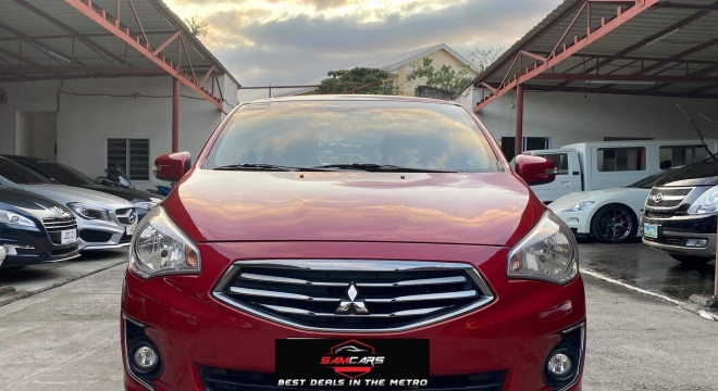 2015 Mitsubishi Mirage GLS AT
