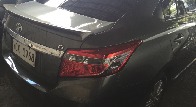 2016 Toyota Vios 1.5 G AT Gasoline