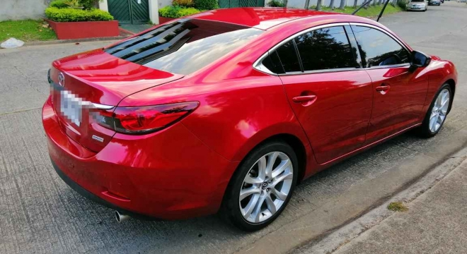 2014 Mazda 6 Sedan 2.5L AT Gasoline