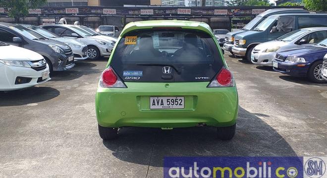 2015 Honda Brio 1.3L AT Gasoline