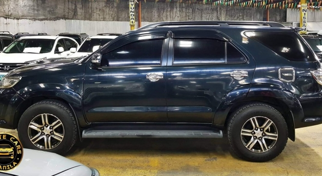 2013 Toyota Fortuner 2.5 G AT Diesel