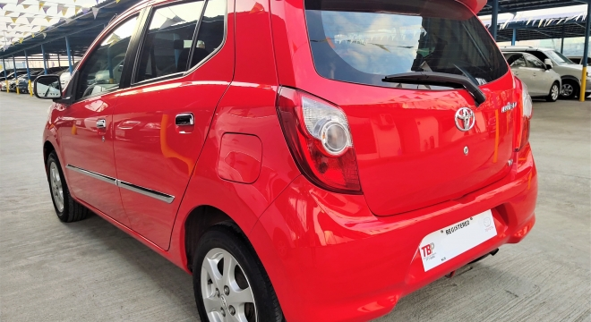 2016 Toyota Wigo G MT Gasoline
