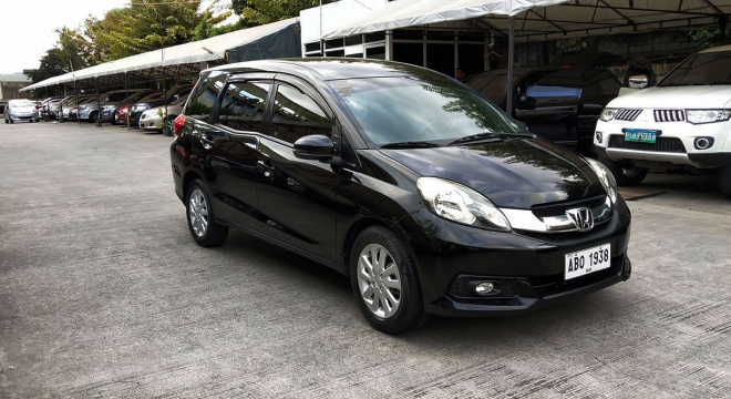 2015 Honda Mobilio 1.5L AT Gasoline