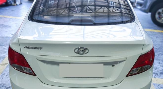 2017 Hyundai Accent Sedan 1.4 GL AT Gas