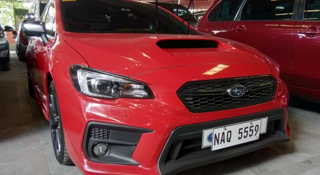 2018 Subaru WRX 2.0 CVT with EyeSight