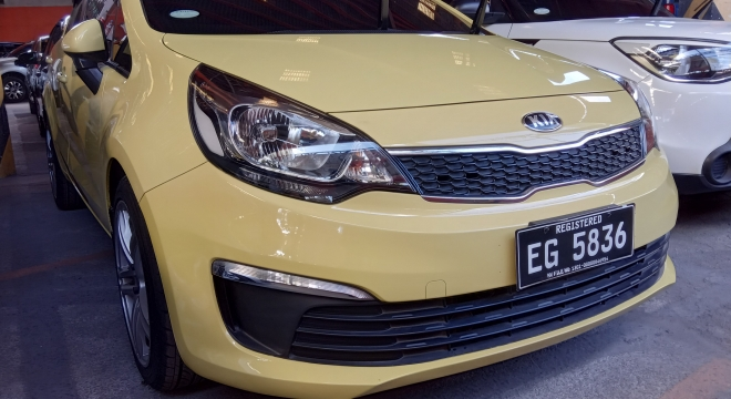 2017 Kia Rio Sedan EX AT